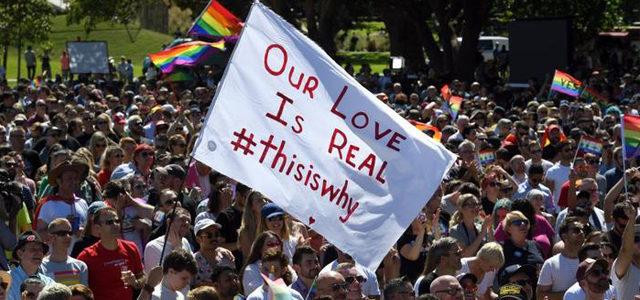 """L'Australie a voté """"OUI"""" en faveur du mariage pour tous"""