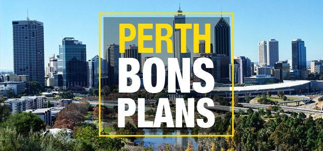 Bons plans à Perth