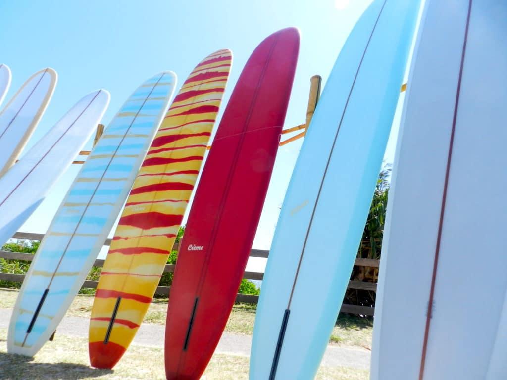 planches de surf
