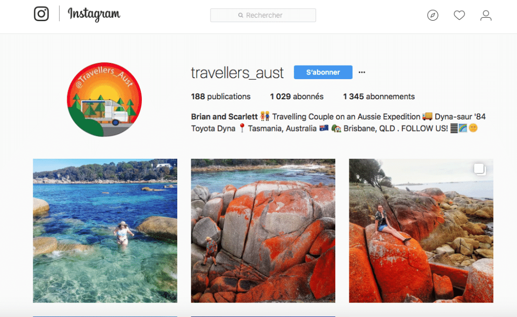 @Travellers_aust instagram