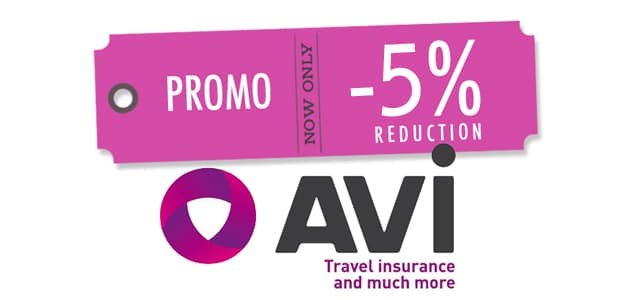 Code promo Avi international 5%