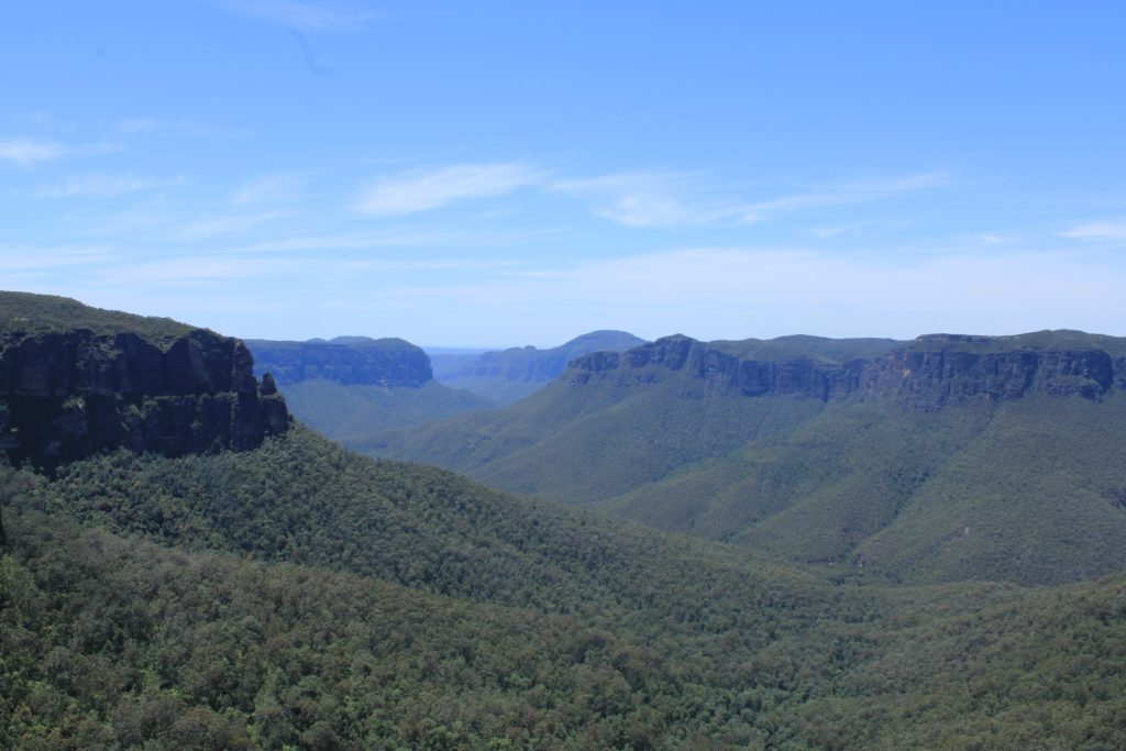 les blue mountains