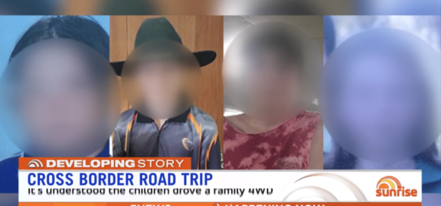 Quatre enfants partent seuls faire un road trip de 900 km