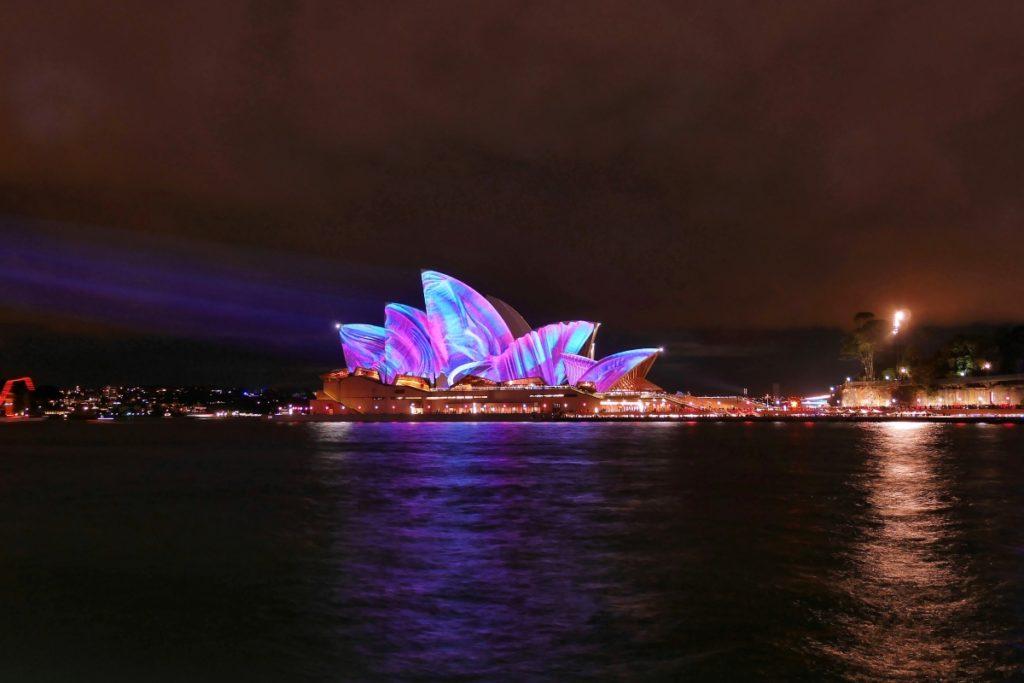 Vivid Festival events australia